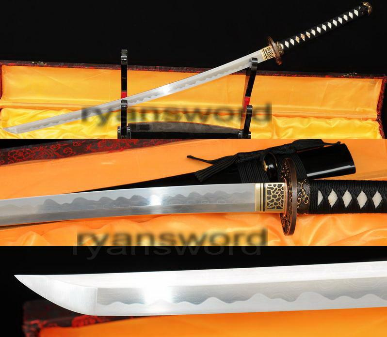 High Quality Combined Material Japanese Samurai Katana Sword