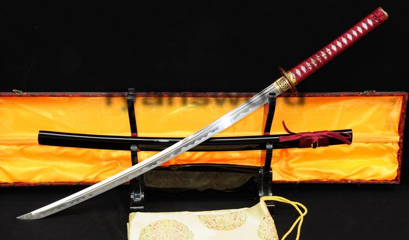 Hand Made 1095 Carbon Steel Japanese Samurai Katana Sword