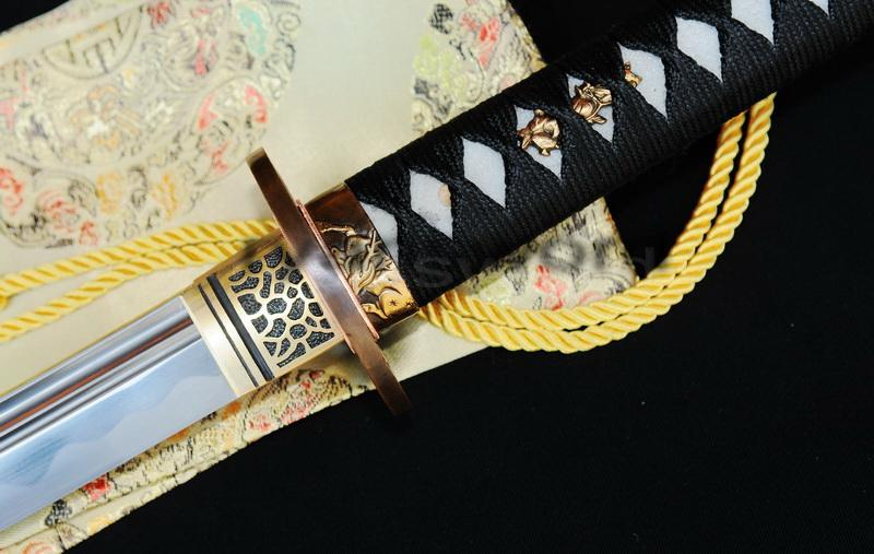 Hand Made Black 1095 Carbon Steel Japanese Samurai Katana Sword