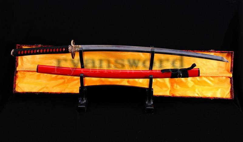 High Quality Clay Tempered Abrasive Japanese Shihozume Samurai Sword Katana