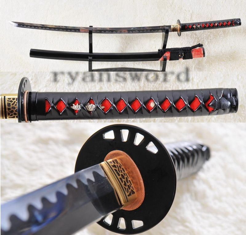 High Quality 1095 Carbon Steel Japanese Sword Samurai Katana