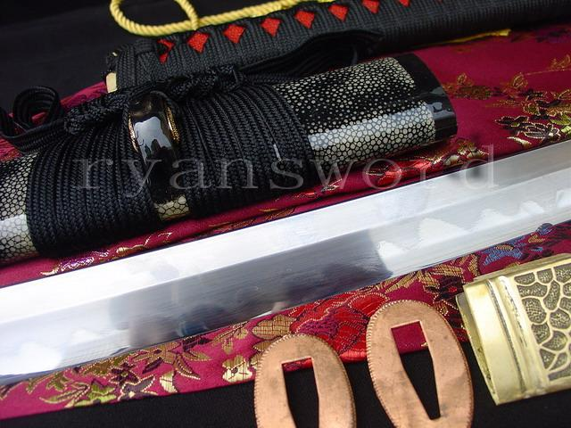 High Quality Clay Tempered+Abrasive Combined Material Japanese Samurai Katana Sword