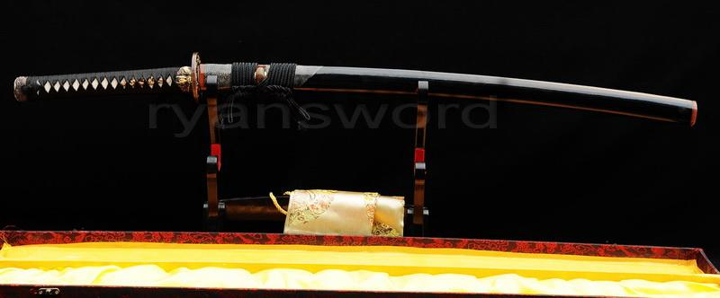 Handmade Clay Tempered 1095 High Carbon Steel Japanese Samurai Katana Sword