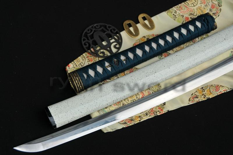 High Quality Clay Tempered 1095 High Carbon Steel Japanese Samurai Katana Sword