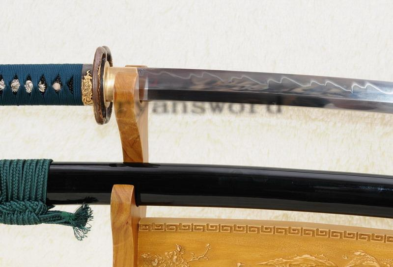 High Quality Maru 1095 Carbon Steel Clay Tempered Japanese Samurai Katana Sword