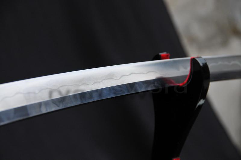 High Quality Sanmai Combined Material Clay Tempered Japanese Samurai Katana Sword