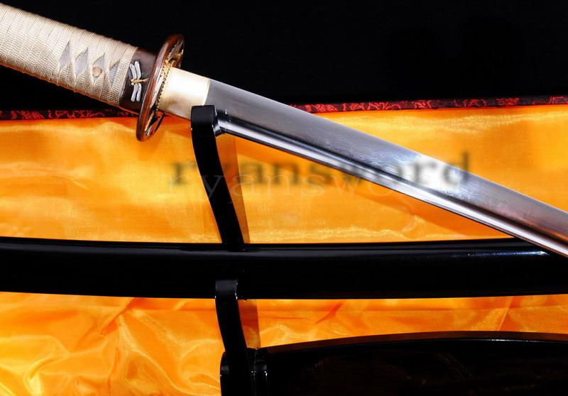High Quality Maru Folded Steel Japanese Samurai Sword Katana