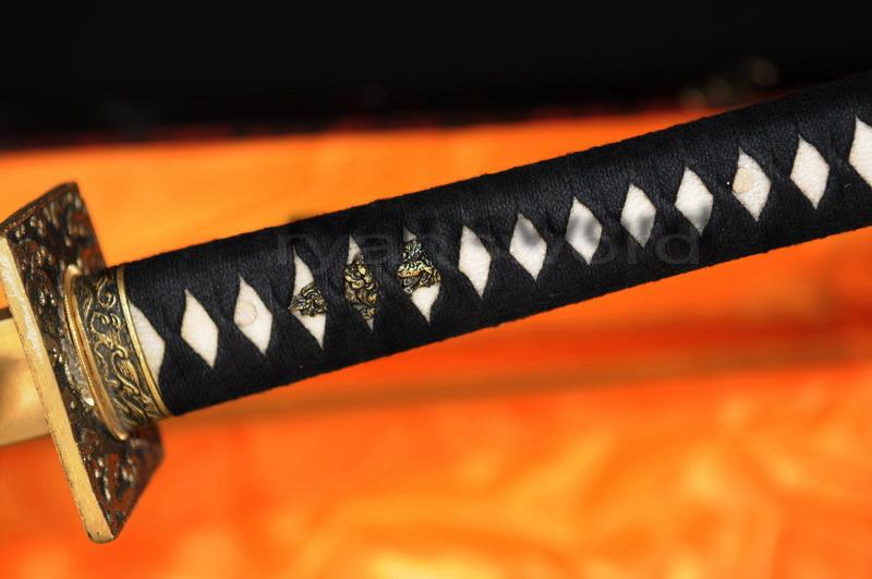 Hand Forged Folded Steel Japanese Samurai Ninja Sword