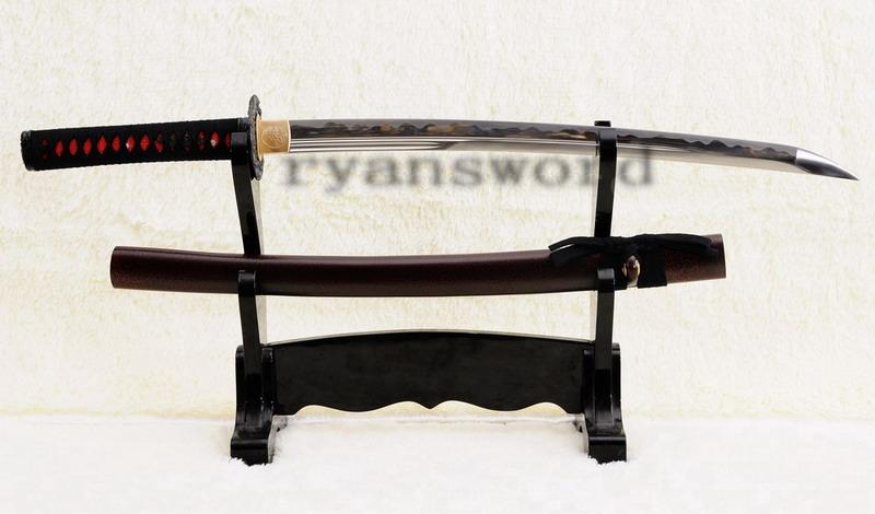 High Quality 1095 Carbon Steel Maru Japanese Samurai Wakizashi Sword